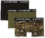 G-STAR RAW Herren Badehose Classic Truk Camo 3-Pack, Mehrfarbig (Khaki Ao/Sage/Dk Black A411), Medium