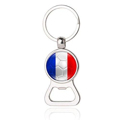 Mini Bierflaschenöffner Schlüsselanhänger für Herren, Modeschmuck 11# frankreich