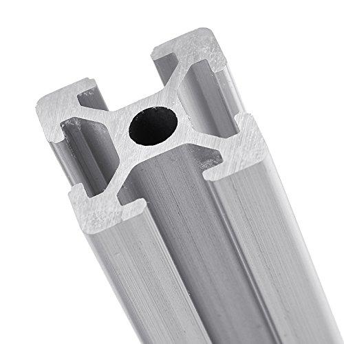 farwind 2020extrusión de perfiles de aluminio marco de ranura 700mm de largo para CNC DIY 3d impresoras muebles Stands