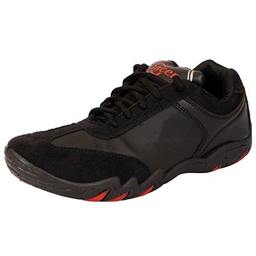 Lancer Men's Mesh Running Shoes (PS-11BLK-41) - (7 UK)