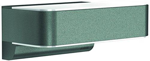 Steinel LED Außenleuchte L 810 LED iHF anthrazit, 12,5 W, 612 Lumen, 160° Bewegungsmelder, max. 5m Reichweite, Wandlampe