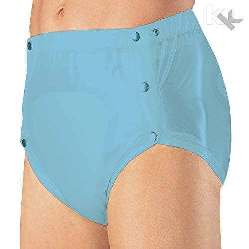 Suprima Inkontinenz PVC-Slip knöpfbar Art. 1-249-039 (unisex) - Gr. XL - hellblau