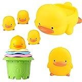 Piyo Piyo Bath Toy Gift Set