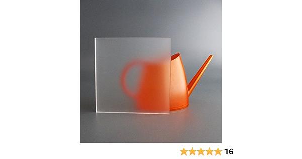 lobotec-acryl PLEXIGLAS Zuschnitt Acrylglas Zuschnitt 3-10mm wei/ß satiniert 8mm, Sonderma/ß Snow