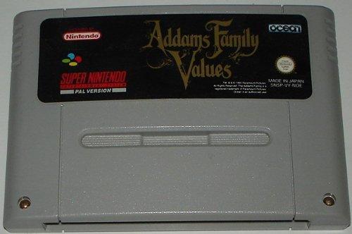 Addams Family Values (SNES) lose