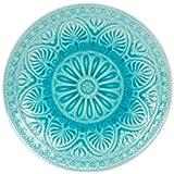 BUTLERS SUMATRA Teller - Schöner Keramik- Teller mit Muster Ø 14 cm | Speiseteller | Sumatra Teller in vier verschiedenen Farben