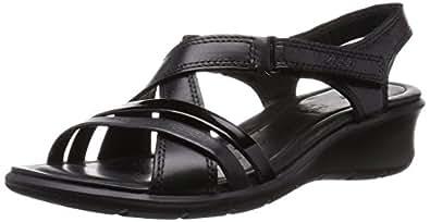 Ecco Felicia Sandal, Damen Slingback Sandalen, Schwarz (BLACK/BLACK51707), 35 EU (3 Damen UK)