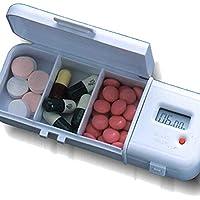 digitale Pillenbox Pill-Reminder Pillendose mit Erinnerungssignal, flexible Zeiteinstellung preisvergleich bei billige-tabletten.eu