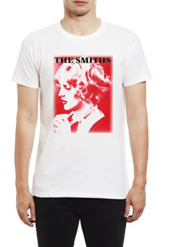 Smith Bow (The Smiths Sheila Take A Bow Herren T-Shirt. Weiss/Large)