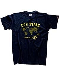 Bitcoin - Its time for Plan B T-Shirt S-XXXL