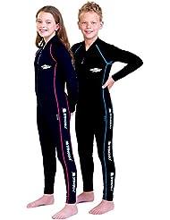 Kid de style sport Stinger suit-, manches longues, coupe longue de protection solaire UPF 50+–10ans, 12Y, 14Y