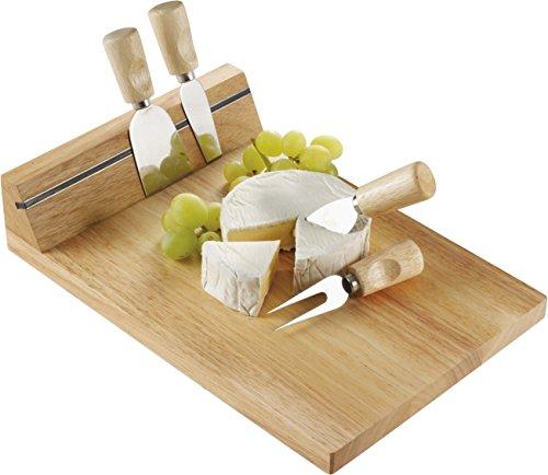Bild Käse (Käsebrett aus Holz mit Magnethalter für das 4-tlg. Besteck Auslieferung ohne Käse)