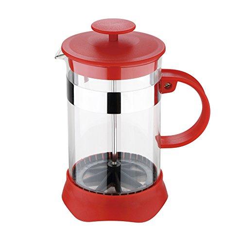 Renberg Coloria - Cafetera de émbolo, 800 ml, rojo