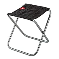 HJKH Mini Portable Lightweight Folding Stools With Storage Bag Suitable Traveling Fishing Camping Foldable Stools For Outdoor Activities Household Use Foldable Adjustable Recliner
