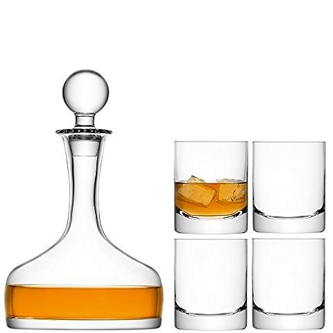 LSA International 250 ml Bar Whisky Set, Clear