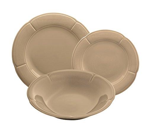 'Kaleidos - Service de vaisselle en grès 18 pièces. CLORI \