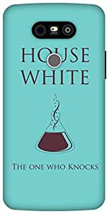 The Racoon Grip Walter white Sigil Blue hard plastic printed back case / cover for LG G5