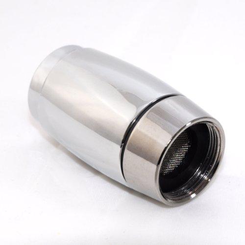 LED Wasserhahnaufsatz / Perlator mit 3 verschiedenen Farben, Farbe ist Abhängig von der Wassertemperatur – Marke Ganzoo - 2
