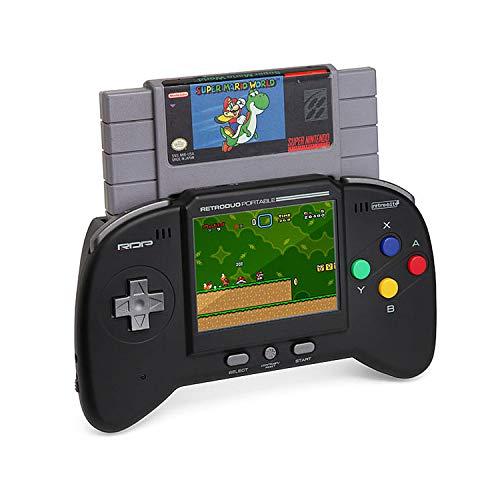 Retro-bit-rdp-0179,Handtragbare Spielkonsole, schwarz