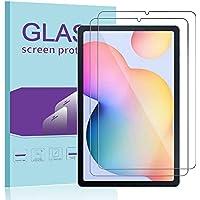"""Janmitta para Samsung Galaxy Tab S6 Lite 10.4"""" Protector de Pantalla [2 Piezas], 9H Dureza [Alta Definicion] [Fácil de Instalar] Cristal Vidrio Templado Film"""