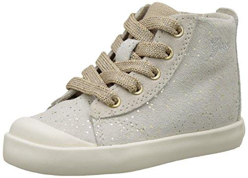 Geox B Kiwi H, Chaussures Marche Bébé Fille Beige (Beige/Beigec0597)