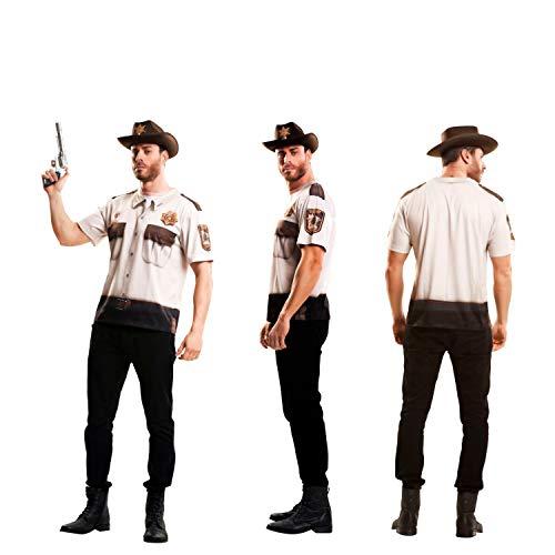 Partychimp 83-Y00044 - Sheriff T-Shirt, Erwachsene, L, -