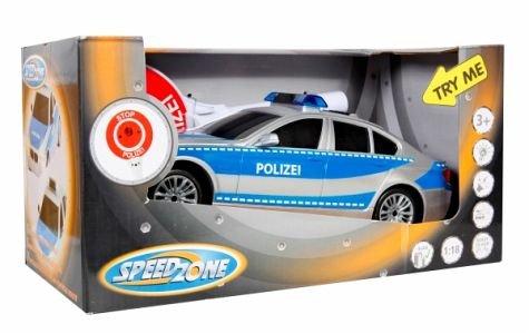 bH - Ware Speed Zone Polizeiauto mit Polizeikelle (Kinder Polizei Hats)