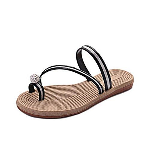 Amlaiworld Frauen Sommer Flip Flops Schuhe Sandalen Slipper Innen  Outdoor Flip Flops  36 EURosa