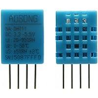 Módulo Sensor de temperatura de la humedad 2pcs DHT-11 Digital
