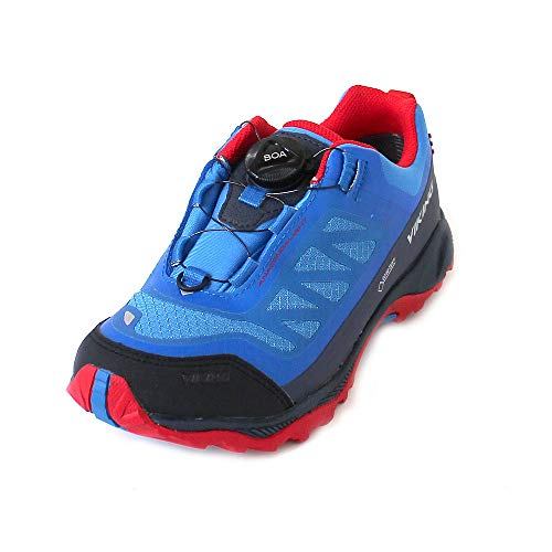 Viking Unisex-Kinder Anaconda Light BOA JR Outdoor Fitnessschuhe, Pink (Mid Blue), 37 EU