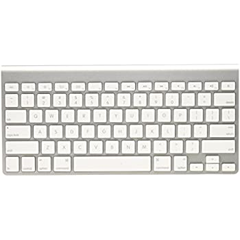 apple keyboard wireless. apple wireless keyboard with bluetooth - us layout (certified refurbished)