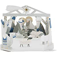 "Hallmark 25501735 Luxury Pop Up Christmas Card Pack""Nativity Scene"" - 5 Cards, 1 Design preiswert"