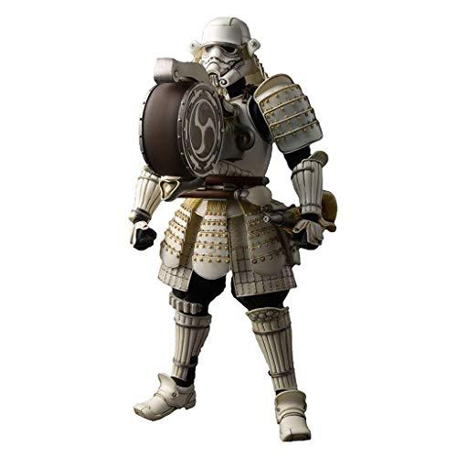 Siyushop Star Wars Movie Realisation Taikoyaku Stormtrooper Actionfigur Krieger Styling Actionfigur Modelle Japanischer Samurai-Stil Japanischer Samurai-Modell Geschenkserie für Kinder