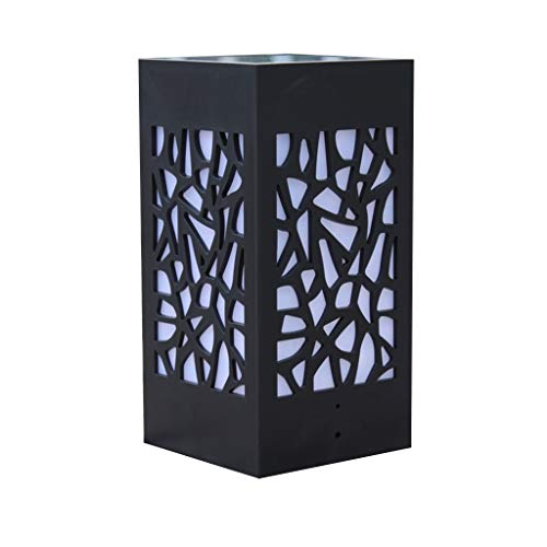 VijTIAN - Lámpara de pie para exteriores con luz solar, para jardín, césped, paisaje, iluminar tu espacio al aire libre, añadir encanto a tu casa