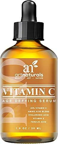 Art Naturals Verbessertes Vitamin C Serum mit Hyaluron Säure 30