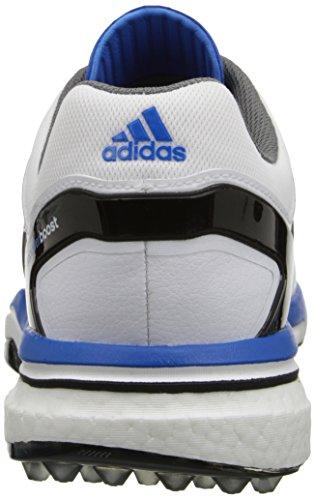 adidas - BOOST ADIPWER da uomo Running White/Core Black/Bahia Blue