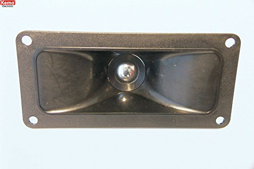 Kemo Electronic - Altoparlante trasduttore ultrasuoni miniaturizzato cono rettangolare contatti a saldare