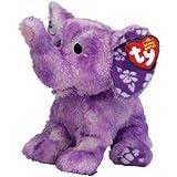 TY Beanie Baby - COASTLINE the Purple Elephant by ty Beanie Babie