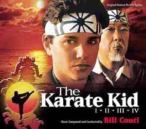 The Karate Kid-Set (4-CD-Set) Varese-Club-Series [Soundtrack] [Audio CD] [Import-CD] [limited]