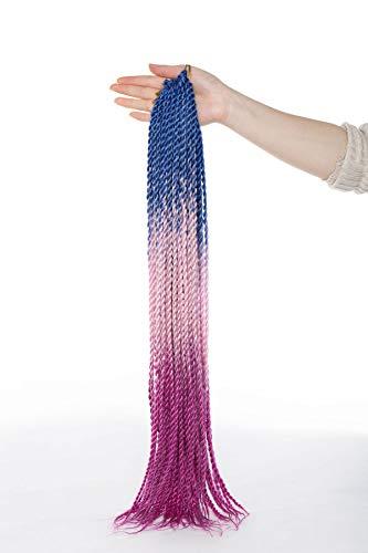 Beauty Haarverlängerung/Dreadlock-Zöpfe, lang, 50,8 cm, Senegalese