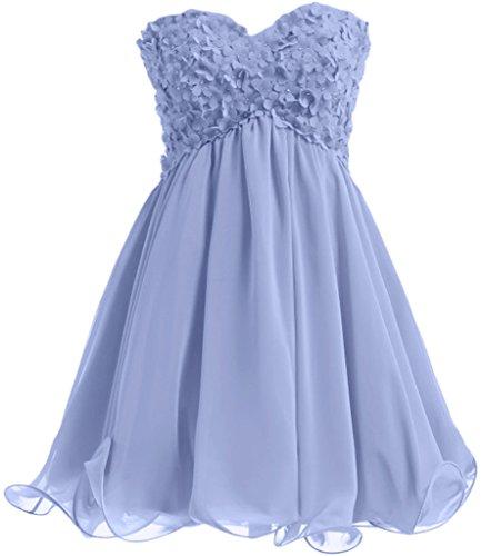 Missdressy - Robe - Plissée - Femme Bleu - Bleu ciel