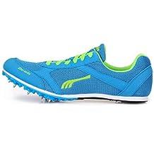 JIAODANBO Examen De Ingreso A La Escuela Secundaria Spike Shoes Entrenamiento De Atletismo Zapatos De Clavos