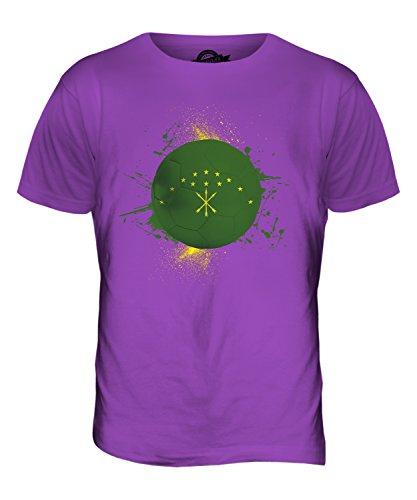 CandyMix Adygeja Fußball Herren T Shirt Violett