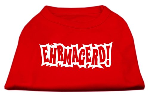 Mirage Pet Products ehrmagerd Bildschirm Print Shirt rot XXXL (20) -