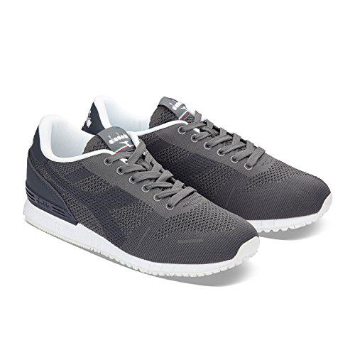 C1333 GRAY Weave CASTLE Titan ROCK Unisex Erwachsene Low Sneaker GRAY Hals Diadora 0qSZ7x8xw