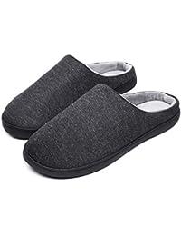 49bde5e9218f7 Magiyard Femmes Hommes Chaud Confort Exquis Chaussons Maison À l intérieur  Antidérapant Chaussures ...