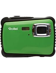Rollei Sportsline 64 - Caméra digitale avec Capteur CMOS 5 mégapixels, Fonction vidéo HD 1280 x 720 pixels Zoom 8x - Vert