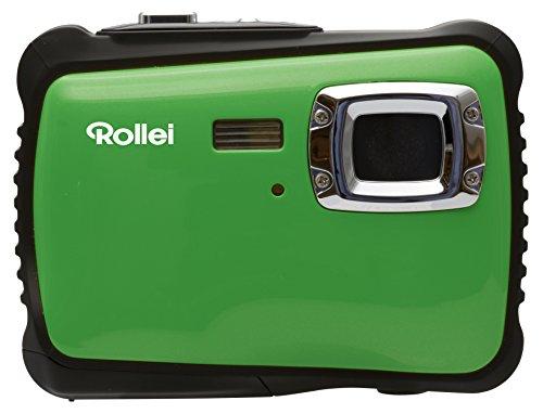 Galleria fotografica Rollei Sportsline 64 - Fotocamera con Funzione video HD 720p, 5 Megapixel, 8X Zoom, LCD 2.0/5.1 cm colore TFT, Impermeabile fino a 3 m - Verde