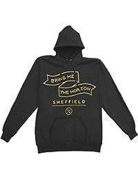 Bring Me The Horizon Men's Banner Pullover BMTH Hoodie Black