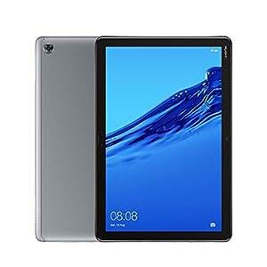 Huawei MediaPad M5 Lite 10-Inch Tablet - Huawei Kirin 659, 3 GB RAM, 32 GB HDD, Mali T830 MP2, Android 8.0 FHD Display- (Grey)